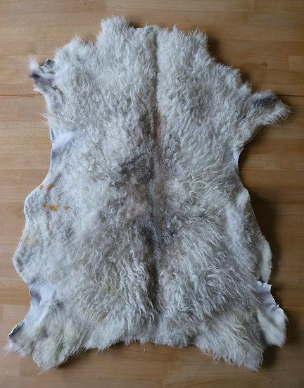 Light Gray Icelandic Shearling Pelt
