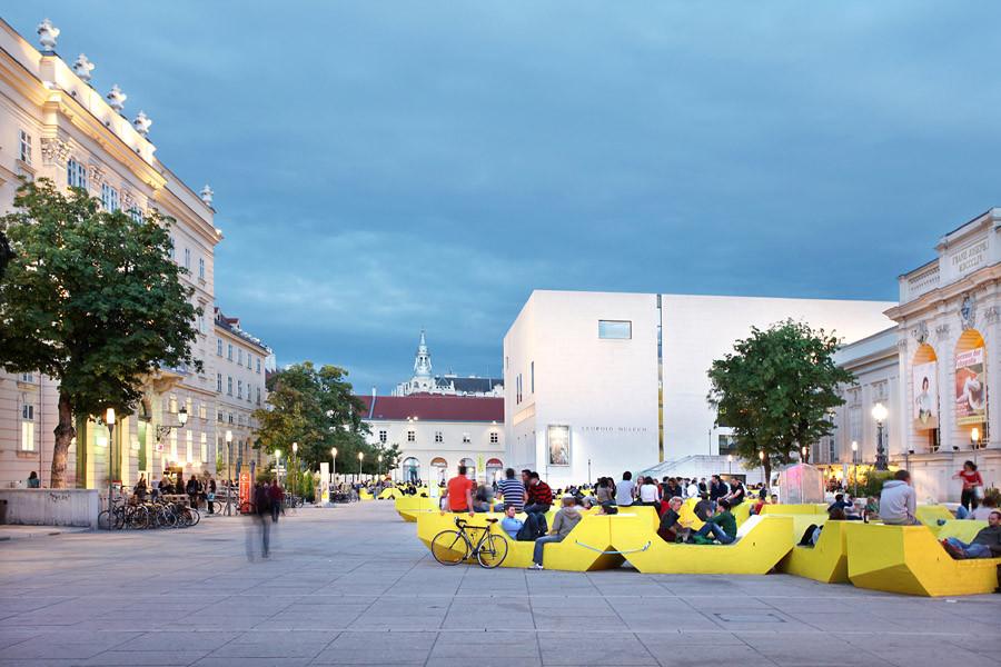 Museumplatz, Vienne