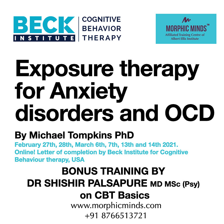 Beck Institute training: Exposure Therapy for Anxiety Spectrum Disorders including OCD