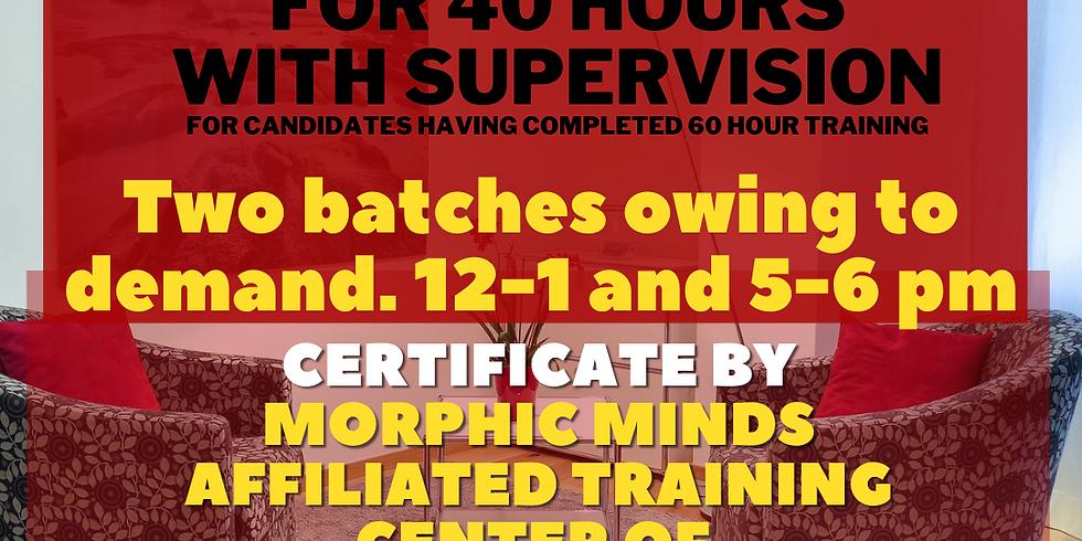 CBT-REBT advanced training online