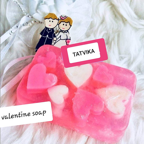 Valentine Soap Bar