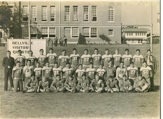 1938 Bellville Football - WWII Veterans Article