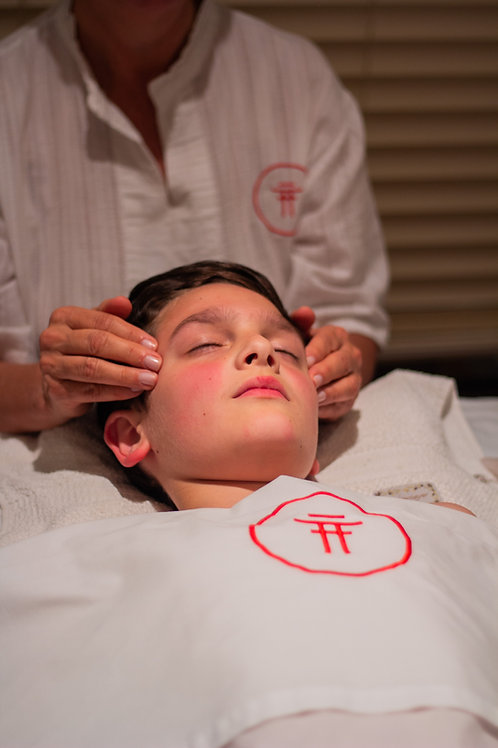 Crânio Facial + Reflexologia Kids - 1h
