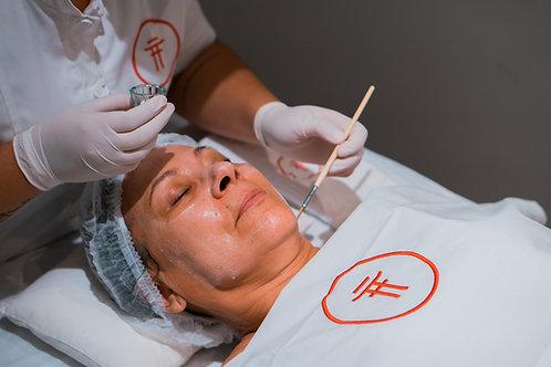 Revitalização e Lifting Facial com Pó de Pérolas - aprox. 1h