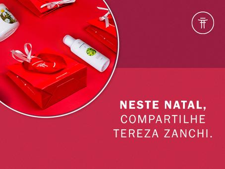 NESTE NATAL, PRESENTEIE TEREZA ZANCHI.