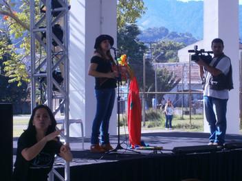 Angélica Rizzi faz palestra na 2ª Exposição de Tecnologia Assistiva e Inclusão (EXPOTAI)