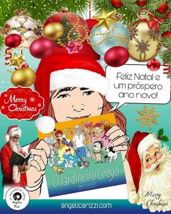 Feliz Natal e um próspero ano novo!São os votos de Angélica Rizzi e equipe