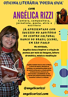 OFicina Literária Poesia Viva com Angéli