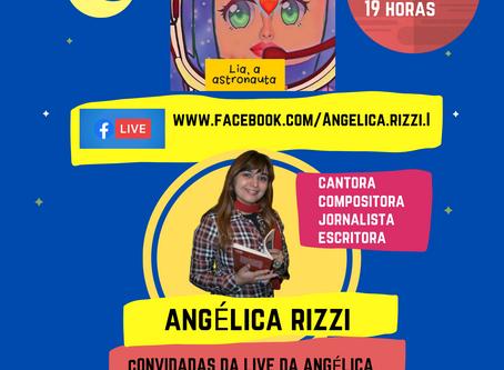 Angélica Rizzi lança livro em live no dia 13 de agosto