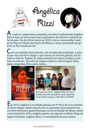Angélica Rizzi - News 2019