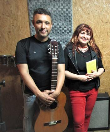 Angélica Rizzi apresenta Sarau Palavra Cantada (Letra & Música) no Palco Aberto do SESC Centro