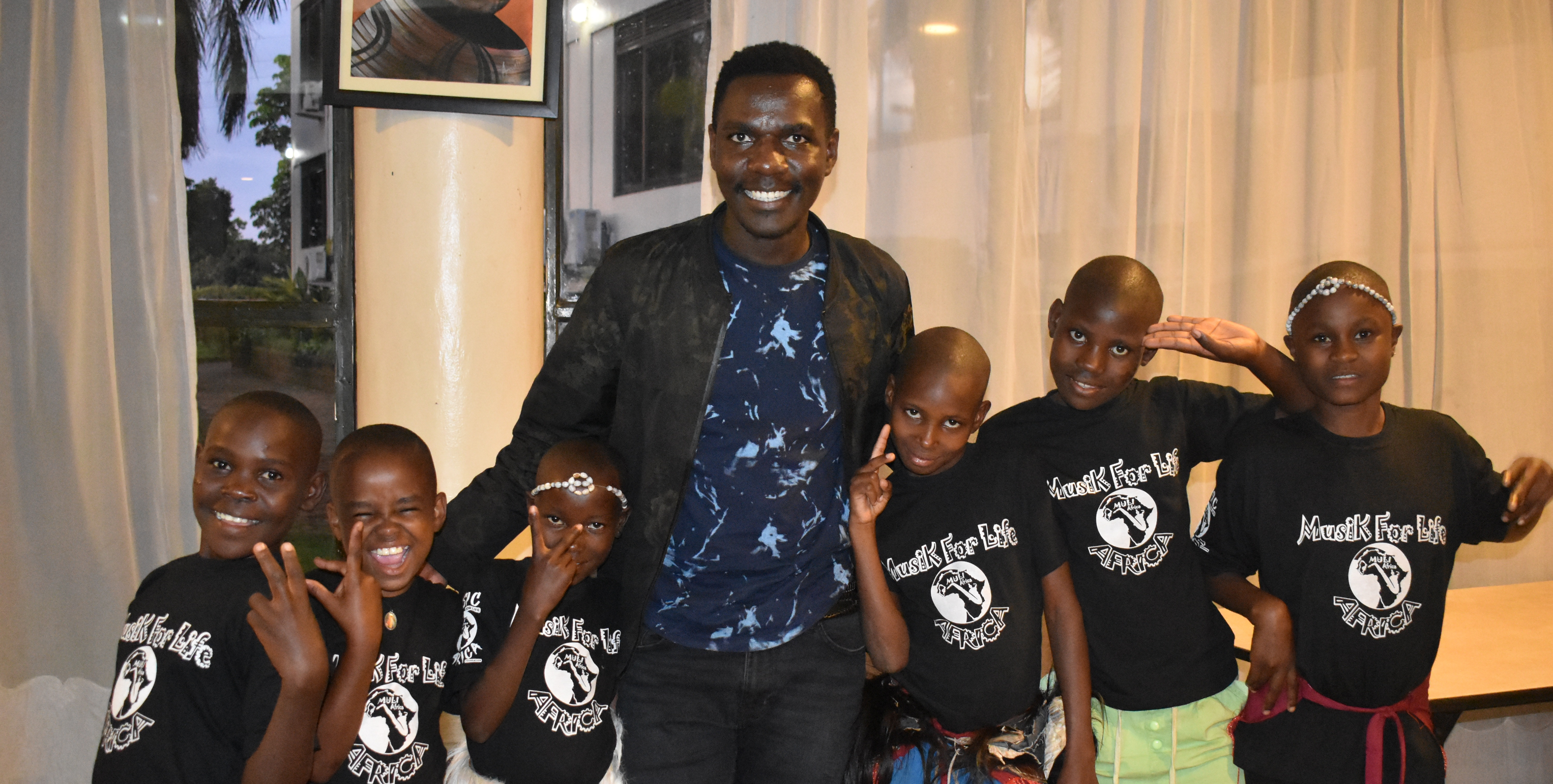 Kenneth Mugabi and Mulia Kids 2019