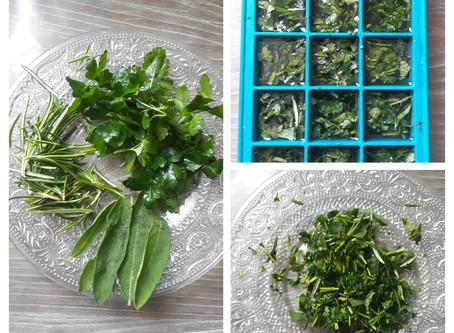 Petite astuce cuisine pour les plantes aromatiques