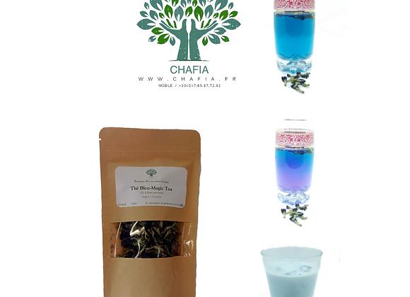 thé bleu ou fleurs de petits pois bleues bio chafia.fr boutique bio