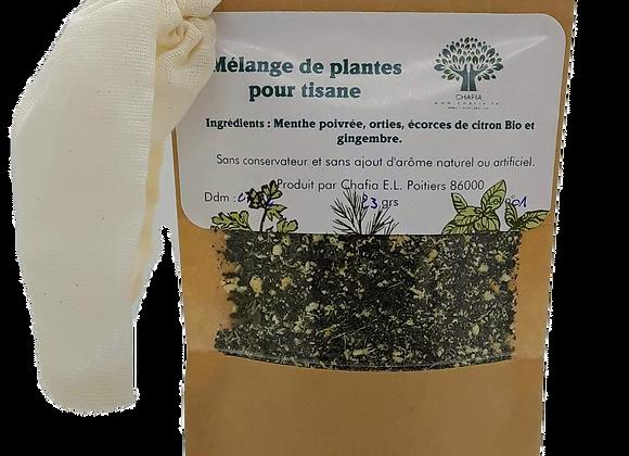 Mélange de plantes pour tisane n°1- Après repas-