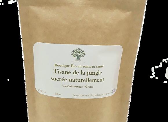 tisane de la jungle sucrée naturellement bio chafia.fr