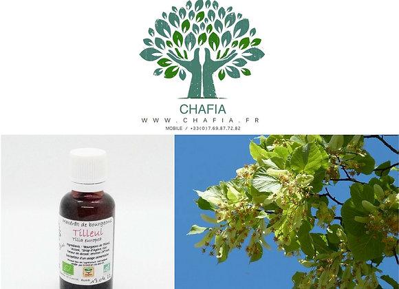 bourgeon de tilleul Bio en gemmothérapie de la boutique Bio en soins et santé de Chafia.fr