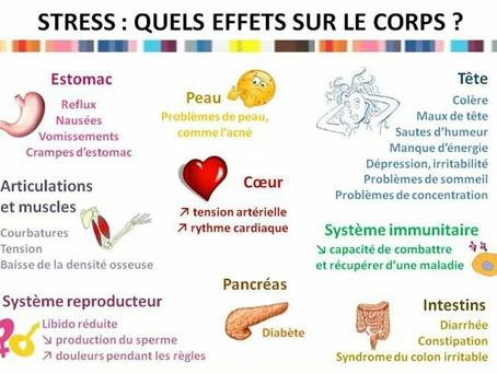 Effets du stress sur le corps