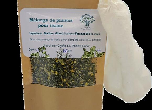 Mélange de plantes pour tisane n°2 -Bonne nuit-