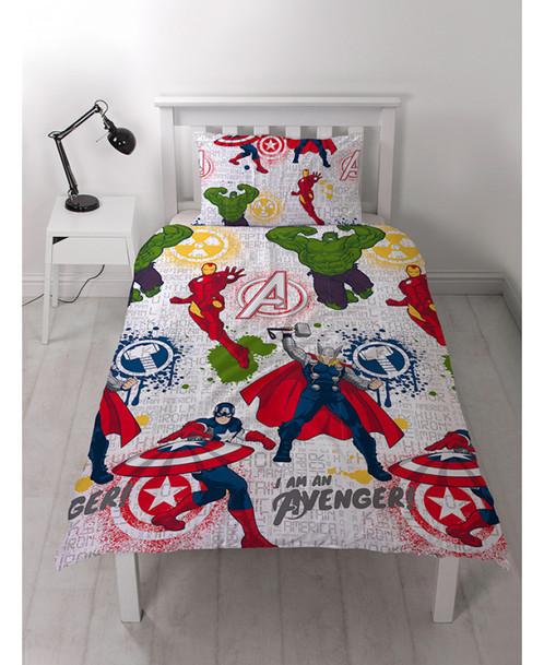 Marvel Avengers Mission Duvet Cover Set Rotary Design