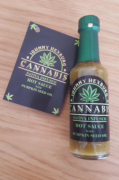 Cannabis Sativa Infused Hot Sauce