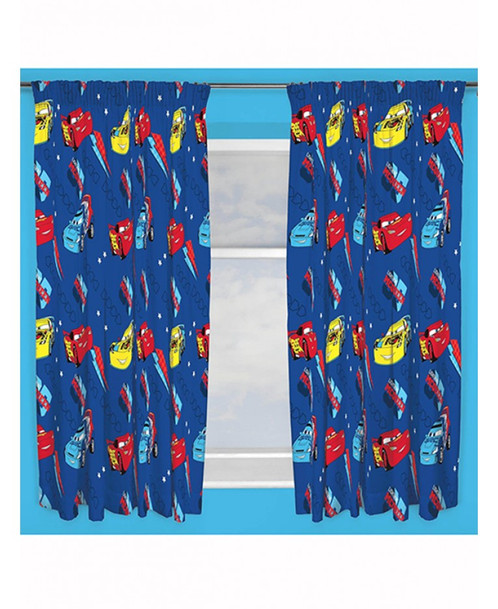Disney Cars Piston Curtains