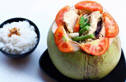 Chicken in Coconut