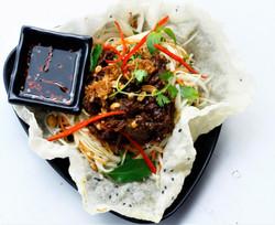 Beef Papya Salad