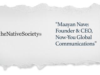 From the Media: The Native Society