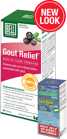 Gout Relief 620 mg X 60 capsules