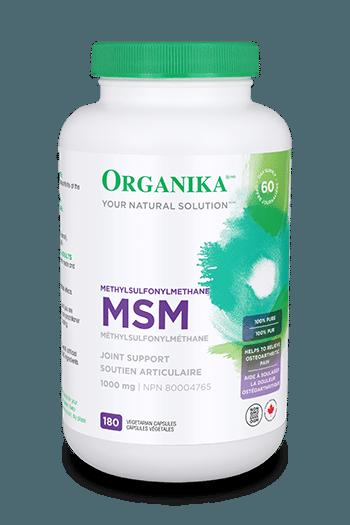 MSM (Methylsulfonylmethane) 1000mg 180 caps