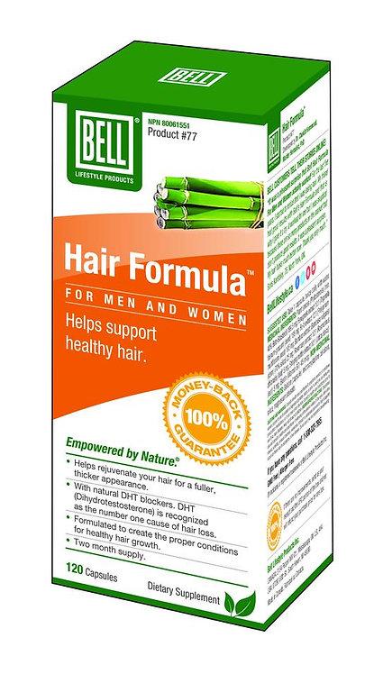 Hair Formula for Men and Women 625 mg x 120 capsules