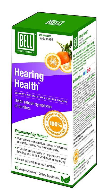 Hearing Health 973 mg x 60 Capsules