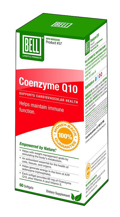 Coenzyme Q10 473 mg x 60 softgels.