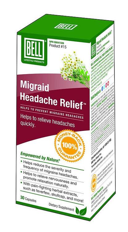 Migraid® Headache Relief 680 mg x 30 capsules