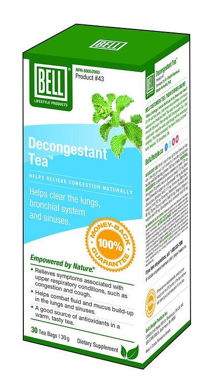 Decongestant Tea 30 tea bags, 1 g each