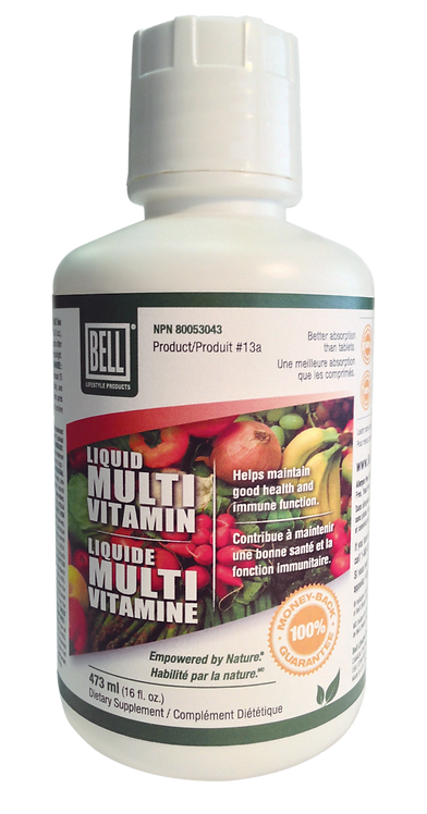 Liquid Multi-Vitamin 16 fl. oz.