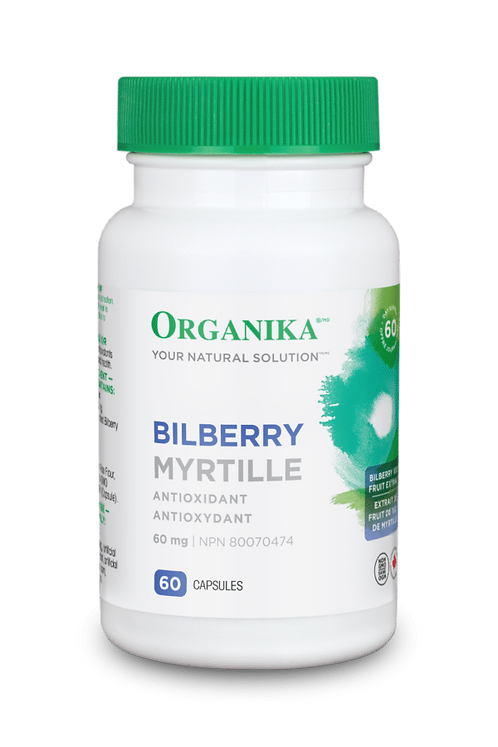 Bilberry Extract 60mg 60 caps