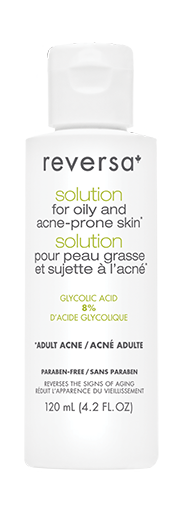 Reversa Solution for Oily and Acne-Prone Skin 120mL