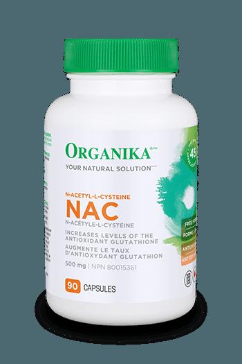 NAC (N-Acetyl-L-Cysteine) 500mg 180 caps