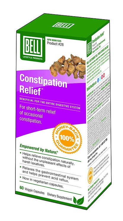 Constipation Relief 624 mg x 60 capsules