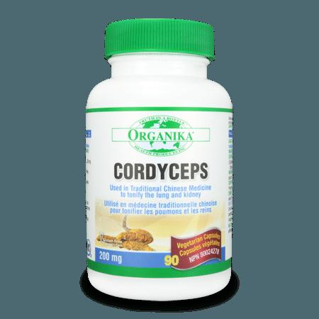 Cordyceps (Mushroom Extract) 200mg 90 caps