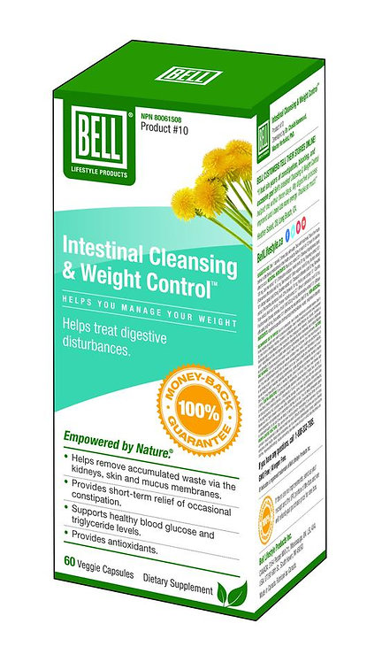 Intestinal Cleansing & Weight Control 660 mg x 60 Capsules