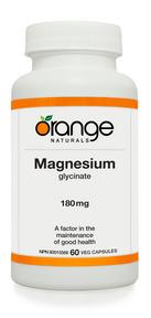 Magnesium Glycinate 180mg 60 caps