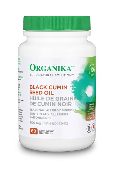 Black Cumin Seed Oil 500mg 60caps