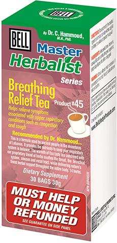 Breathing Relief Tea 30 tea bags, 1 g each
