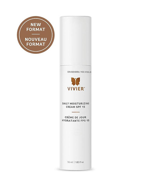 Vivier Daily Moisturizing Cream with SPF 15 55ml