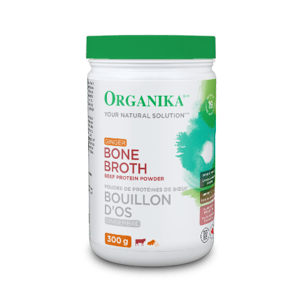 Beef Bone Broth Protein Powder – Ginger 300g
