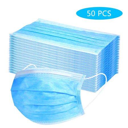 Disposable 3-ply Masks Non-Woven 50 pcs