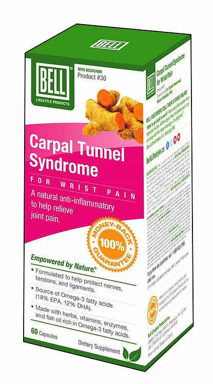 Carpal Tunnel Syndrome for Wrist Pain 676 mg x 60 Capsules